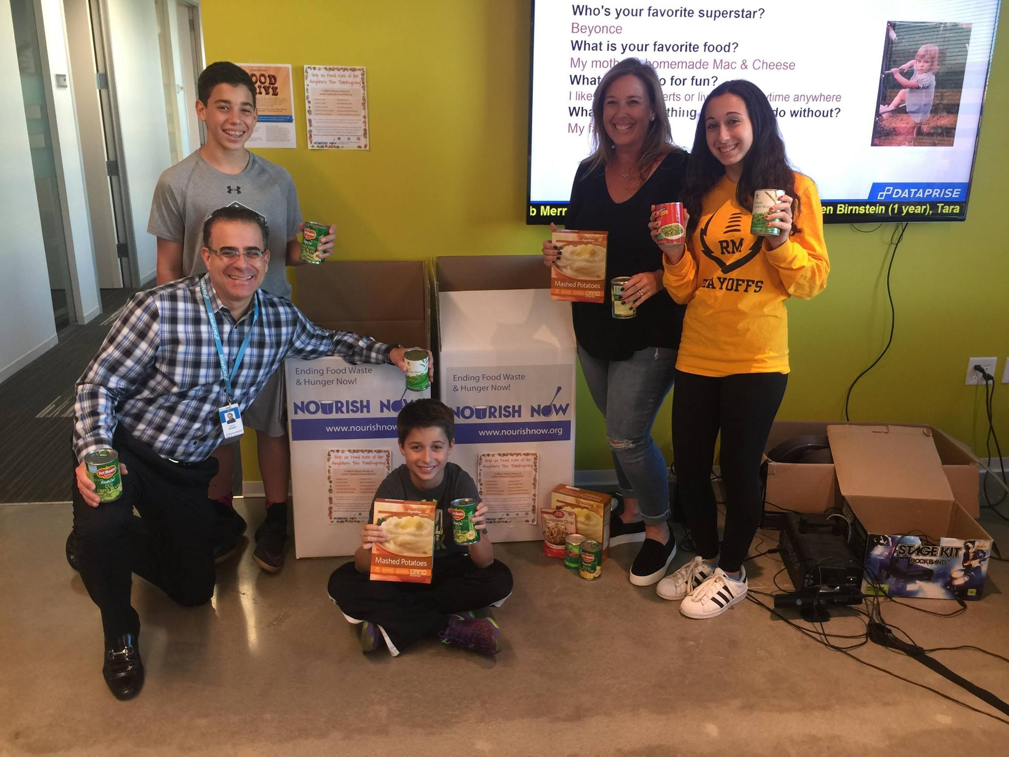 Dataprise donates to Nourish Now during the 2016 Holiday Season!