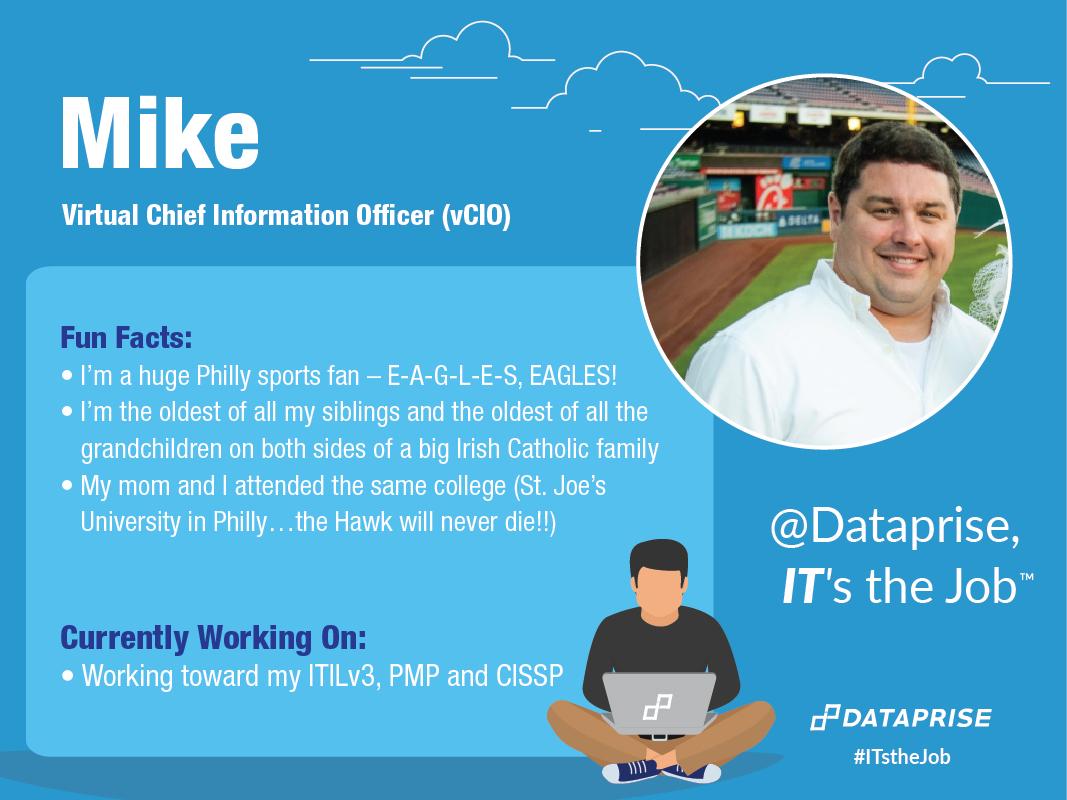 Meet Mike, a vCIO at Dataprise