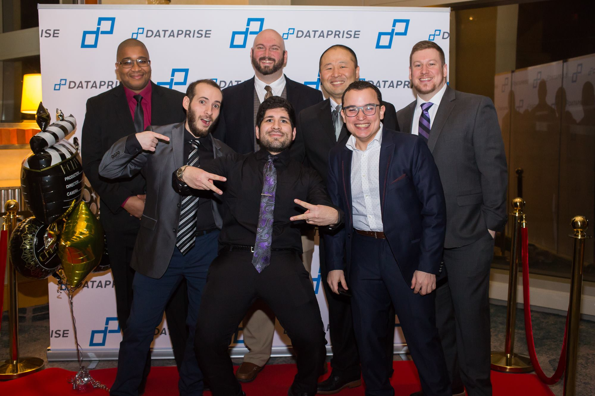 Baltimore team at Dataprise Annual Gala.