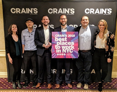 Crain's Best Places to Work Award