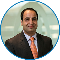 Headshot of Kashif Satti, Vice President of Managed Services Delivery