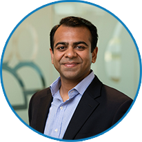 Headshot of Mick Shah, Senior Vice President of Technical Services at Dataprise