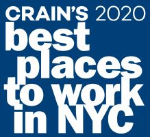 Dataprise Ranked #4 on Crain's 2020 Best Places to Work in NYC List