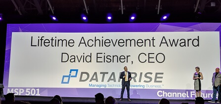 Dataprise Founder and CEO David E. Eisner Receives Lifetime Achievement Award from Channel Futures MSP 501