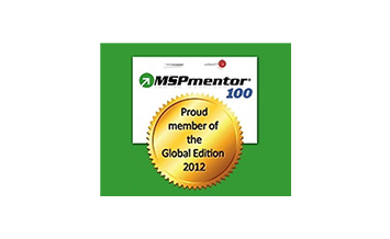 Dataprise, Inc. Recognized as one of the World's Top 100 Managed Service Providers (MSPs) in 2012 by MSPmentor's Annual Report, Global Edition