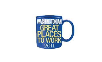 "DATAPRISE CELEBRATES BEING ONE OF WASHINGTONIAN MAGAZINE'S  2011 TOP 50 ""GREAT PLACES TO WORK"""