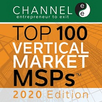 Dataprise Named to ChannelE2E's Top 100 Vertical Market MSPs: 2020 Edition