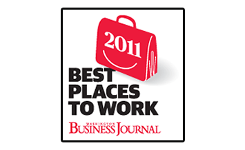 Dataprise, Inc. Celebrates Being Named One of the 2011 'Top 50 Best Places to Work' in Greater Washington by the Washington Business Journal