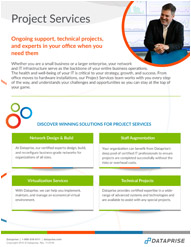 Project Services Brochure