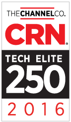 Dataprise was named to CRN's Tech Elite 250 list in 2016