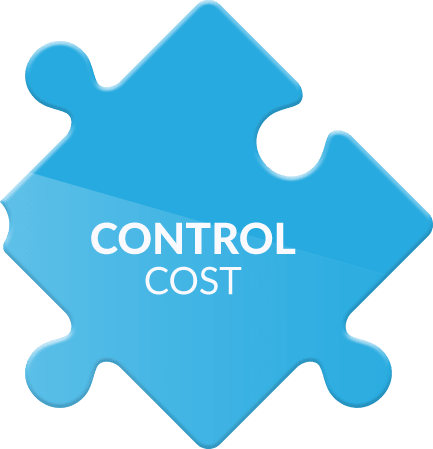 We help you to control costs