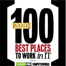 Dataprise was named a 2020 Best Place to Work in IT by Insider Pro and Computerworld