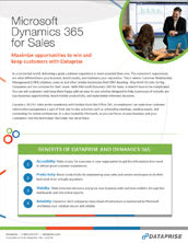 Dynamics 365 for Sales Brochure
