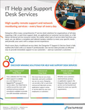 Help and Support Desk Brochure