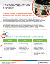 Telecommunication Services Brochure