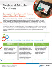 Web and Mobile Solutions Brochure