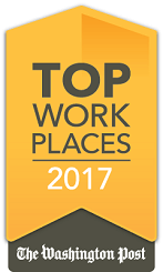 Dataprise was named a 2017 Top Workplace by The Washington Post