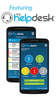 myHelpDesk Mobile App Image