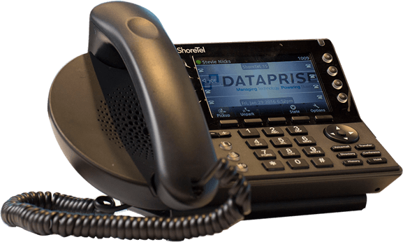 Photo of Dataprise ShoreTel telephone system
