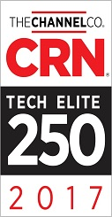 Dataprise was named to CRN's Tech Elite 250 list in 2017