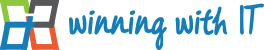 Winning with IT Logo